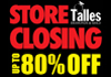 Store Closing Sale At Talles Diamonds and Gold