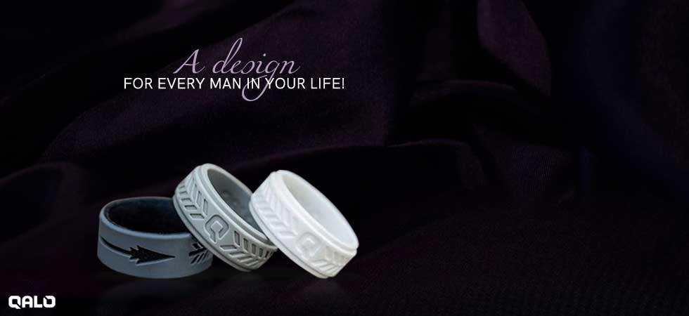 Marble silicone bands available at Talles Diamonds and Gold